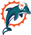 Miami Dolphins 1997-2012 Primary Logo iron on transfer
