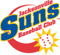 Jacksonville Suns Primary Logos 1 decal sticker