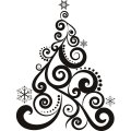 Personalized Christmas Decoration DIY iron on stickers (heat transfer) 17
