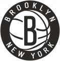 Brooklyn Nets 2012-Pres Primary Logo iron on transfer
