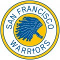 Golden State Warriors 1963-1969 Primary Logo iron on transfer