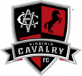 Virginia Cavalry FC Logos timeline iron on transfer iron on transfer