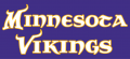 Minnesota Vikings 2004-Pres Wordmark Logo 04 iron on transfer