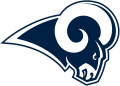 Los Angeles Rams 2017-Pres Primary Logo iron on transfer