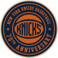 New York Knicks 2016-17 Anniversary Logo decal sticker