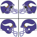 Minnesota Vikings Helmet Logo 2006-Present DIY iron on transfers