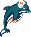 Miami Dolphins 1997-2012 Alternate Logo iron on transfer