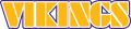 Minnesota Vikings 1982-2003 Wordmark Logo iron on transfer