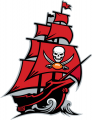 Tampa Bay Buccaneers 2014-Pres Alternate Logo decal sticker