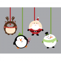 Personalized Christmas Decoration DIY iron on stickers (heat transfer) 6