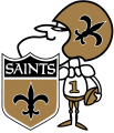 New Orleans Saints 2009-Pres Alternate Logo iron on transfer