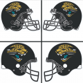 Jacksonville Jaguars Helmet Logo 1995-2008 DIY iron on transfers