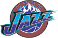 Utah Jazz 1997-2004 Primary Logo decal sticker