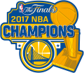 Golden State Warriors 2017 Champion Logo iron on transfer