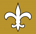 New Orleans Saints 1976-1999 Alt on Dark Logo iron on transfer