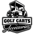 Golf cart logo 02 iron on transfers
