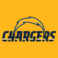 Los Angeles Chargers 2017 Alt on Dark Logo 01 decal sticker