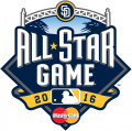 MLB All-Star Game 2016 Sponsored decal sticker