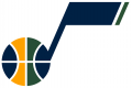 Utah Jazz 2017-Pres Alternate Logo 02 decal sticker