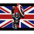 Captain America DIY decals stickers 16