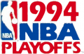 NBA Playoffs 1993-1994 decal sticker