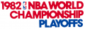 NBA Playoffs 1981-1982 decal sticker