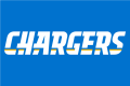Los Angeles Chargers 2017-Pres Wordmark Logo 04 decal sticker