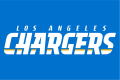Los Angeles Chargers 2017-Pres Wordmark Logo 03 decal sticker