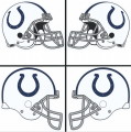 Indianapolis Colts Helmet Logo 2004-Present DIY iron on transfers