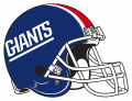 New York Giants 1976-1980 Helmet decal sticker
