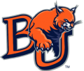 Baker University logo 03 iron on sticker