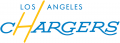 Los Angeles Chargers 2018-Pres Wordmark Logo decal sticker