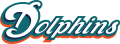 Miami Dolphins 2009-2012 Wordmark Logo iron on transfer