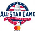 MLB All-Star Game 2018 Sponsored decal sticker