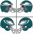 Philadelphia Eagles Helmet Logo 1996-Present DIY iron on transfers