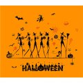 Halloween party shirt DIY iron on stickers (heat transfer)