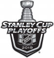 Stanley Cup Playoffs 2018-2019 decal sticker