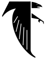 Atlanta Falcons 1966-1989 Primary Logo decal sticker