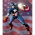 Captain America DIY decals stickers 1