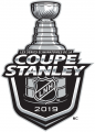 Stanley Cup Playoffs 2018-2019 Alt. Language decal sticker