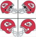 Kansas City Chiefs Helmet Logo 1974-Present DIY iron on transfers