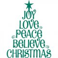 Personalized Christmas Decoration DIY iron on stickers (heat transfer) 8