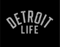 Detroit Life logo iron on transfer