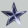 Dallas Cowboys Stainless steel logo iron on transfer