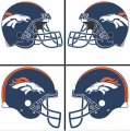 Denver Broncos Helmet Logo 1997-Present DIY iron on transfers