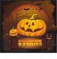 Halloween banner shirt DIY iron on stickers (heat transfer)