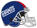 New York Giants 1981-1999 Helmet decal sticker