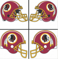 Washington Redskins Helmet Logo 1978-Present DIY iron on transfers