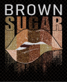 Brown Sugar logo iron on transfer