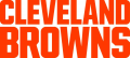 Cleveland Browns 2015-Pres Wordmark Logo 01 decal sticker
